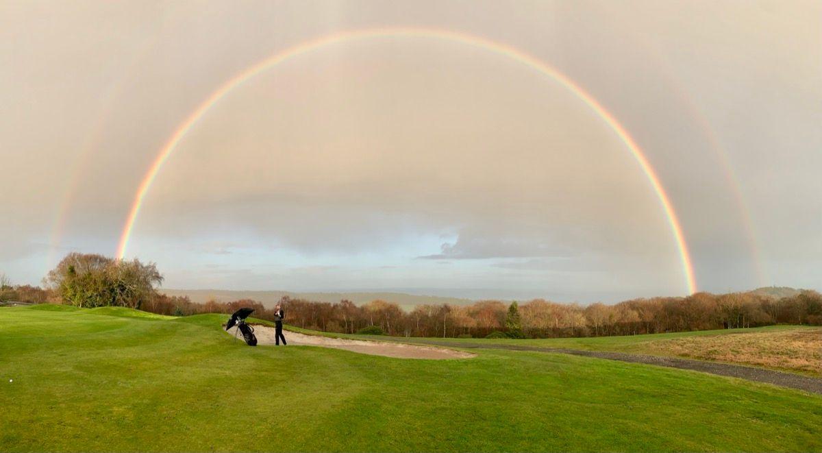 Golf Course Rainbow