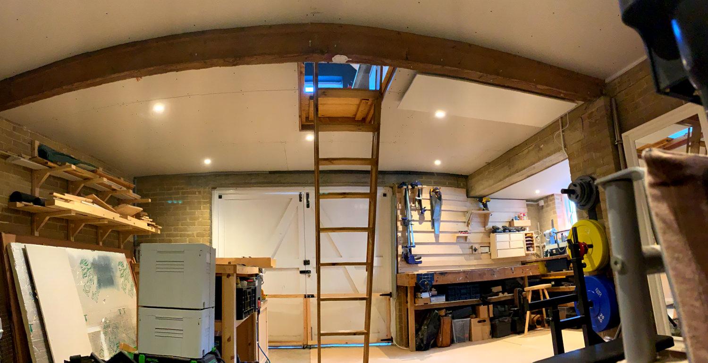 Workshop Ceiling After
