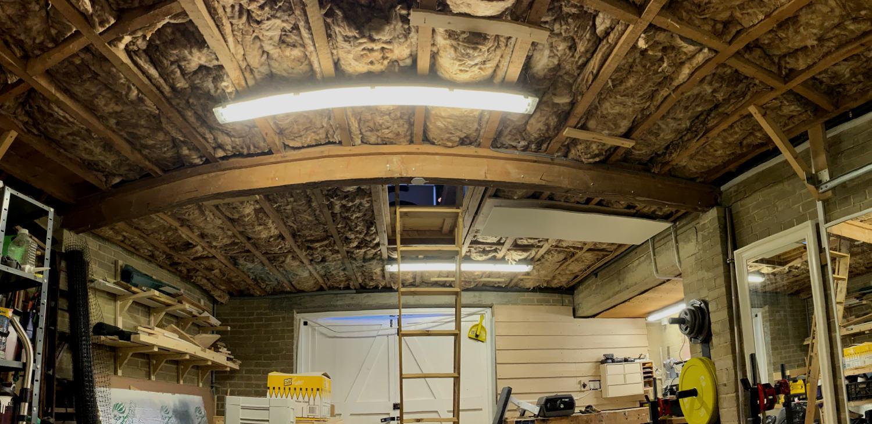 Workshop Ceiling Before